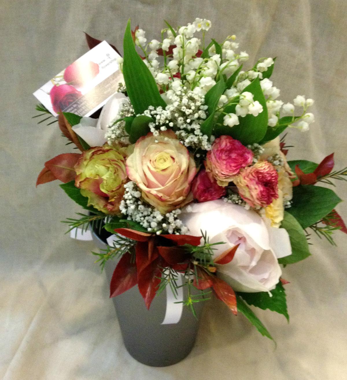 Wedding Bouquet Flower Combinations : Wedding bouquet quot convalaria combination